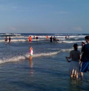 Summit Church Beach Baptisms
